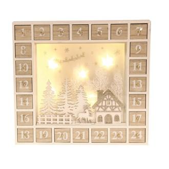 LED Advent Calendar 33x31cm