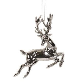 Reindeer Tree 12cm Silver