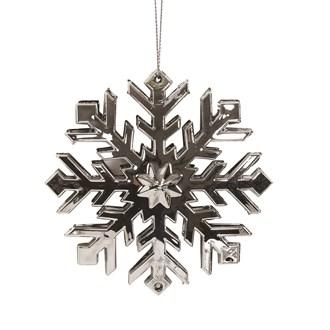 Snowflake Tree 11cm Silver