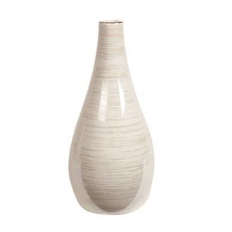 Lustre Narrow Neck Vase 30cm