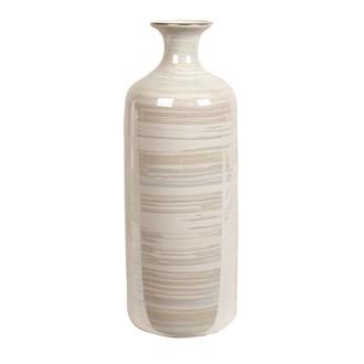 Lustre Cylinder Vase 30cm