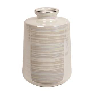 Lustre Cylinder Vase 22cm