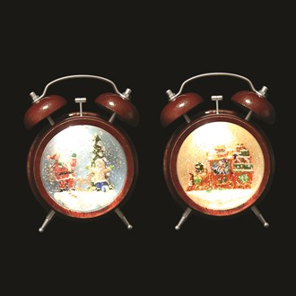 Water Spinner Clock 2 Assorted