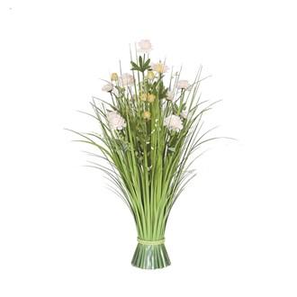 Grass Floral Bundle Camellia 70cm