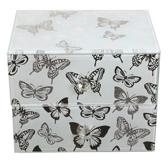 Butterfly Jewellery Box 16cm