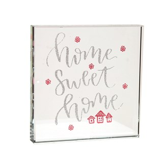 Home Sweet Home Paperweight 12cm