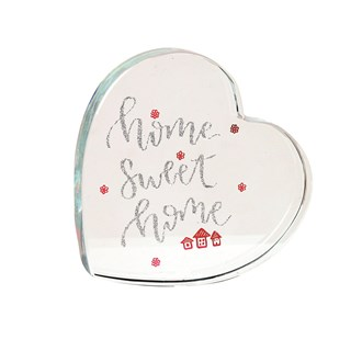 Home Sweet Home Paperweight 9cm