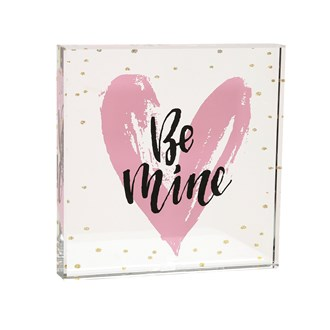 Be Mine Paperweight 12cm