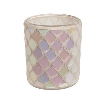 Lustre Mosaic Tealight Holder 8.5cm
