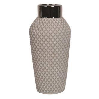 Grey Cocktail Vase 30cm