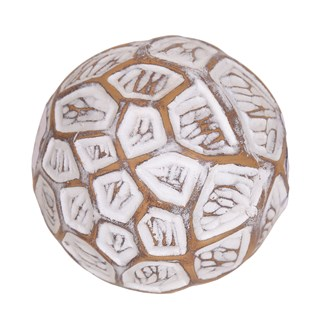 Geometric Decorative Ball 10cm