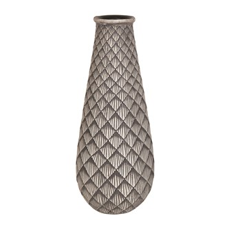 Diamond Geometric Vase 39cm