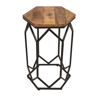 Mango Wood Side Table 40x60cm