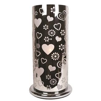 Heart Design Table Lamp 48cm