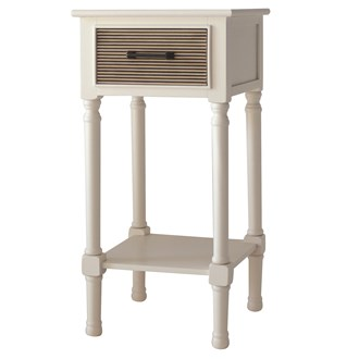 1 Drawer Accent Table with Aztec Design