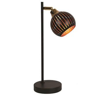 Gold/Black Desk Lamp 43cm