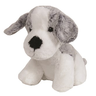 Grey Dog Doorstop 20cm