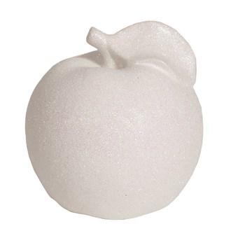 White Lustre Apple 14cm