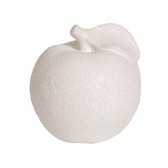 White Lustre Apple 10cm