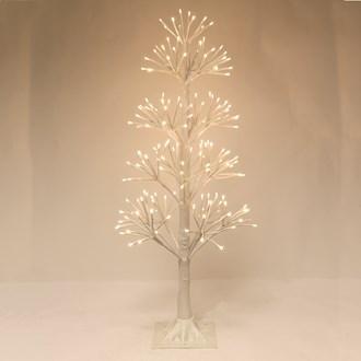 LED 190 Light White Birch Tree 90cm