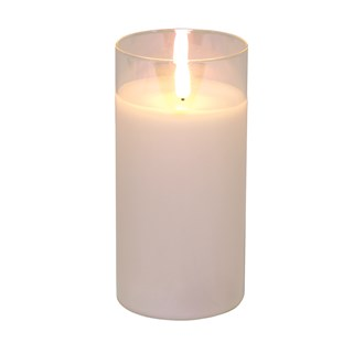 LED Lustre Candle 7.5 x15cm
