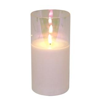 LED Lustre Candle 10x20cm