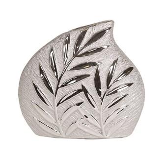 Leaf Design Vase 18.5cm