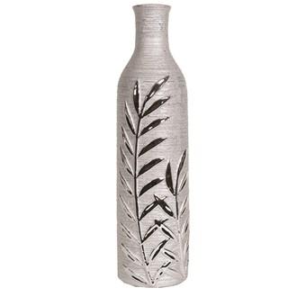 Leaf Design Bottle Vase 41cm