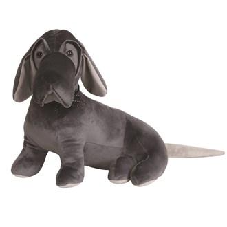 Beagle Doorstop Grey 30cm