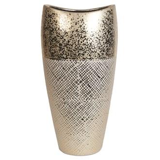 Gold Ellipse Vase 39.5cm