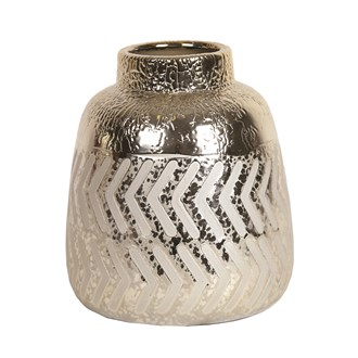 Gold Vase 16.5cm