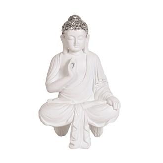 White Shelf Buddha 27.5cm