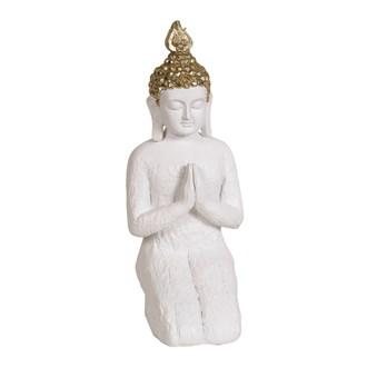White Praying Buddha 28.5cm