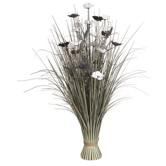 Grass Floral Bundle Zinnia 100cm