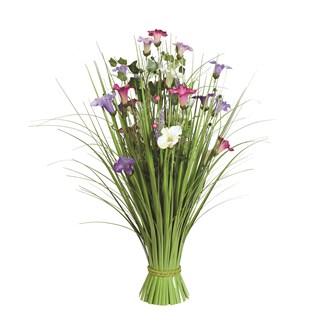 Grass Floral Bundle Morning Glory 70cm