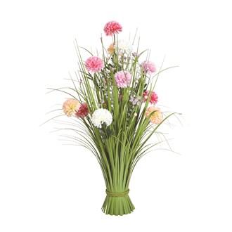 Grass Floral Bundle Mixed Carnation 70cm