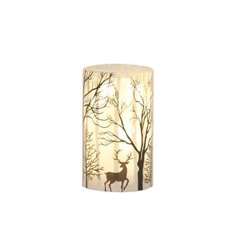 LED Reindeer Scene 15cm