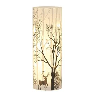 LED Reindeer Scene 25cm