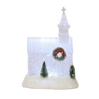 LED Church Water Spinner 24cm