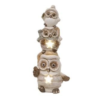 LED Owl Deco 46.5cm