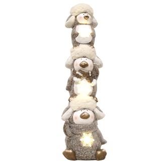 LED Penguin Deco 46.5cm