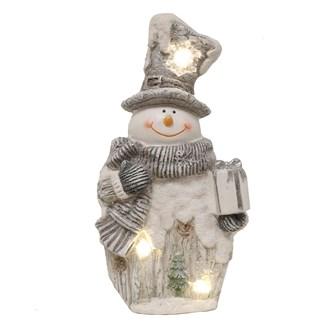LED Snowman Deco 45.5cm