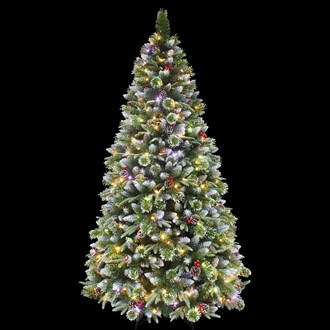 Pre-Lit Mixed Tree 7ft