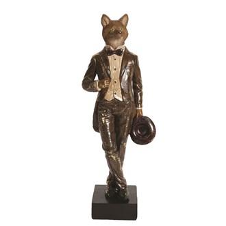 Decorative Fox Figurine 38.5cm