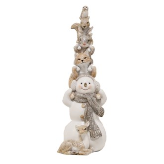 Snowman Figurine 26.5cm