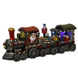 LED Santa Train 51.5cm