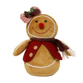 Gingerbread Woman Doorstop