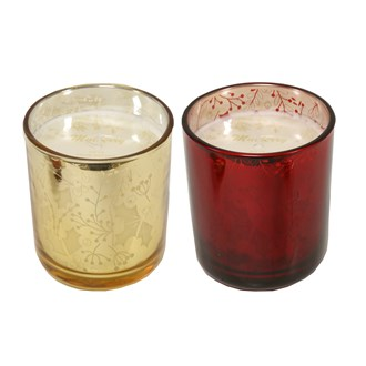 Mulberry Fragranced Candle in Glass 2 Assorted 10cm