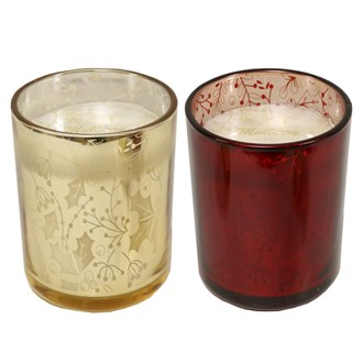 Mulberry Fragranced Candle in Glass 2 Assorted 12.5cm