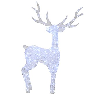 LED Acrylic Stag 120cm (240 Lights)